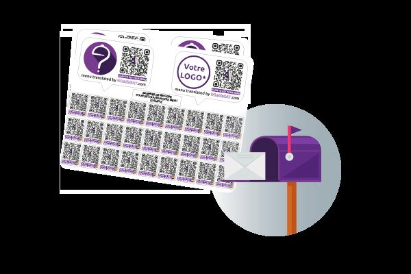 QrCode Sticker
