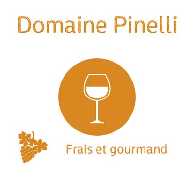 Domaine Pinelli, Muscat 2019, Vin doux naturel, vin de France, Cap Corse 75cl (recommandé en apéritif ou avec le Tiramisu) image