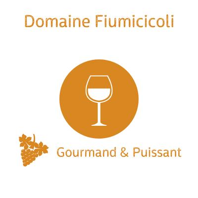 Domaine Fiumicicoli, Muscateddu vendanges tardives, Vin de France, Sartène 50cl (en apéritif ou en digestif) image
