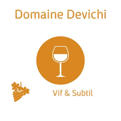 Domaine Devichi, Muscat pétillant demi-sec, Cap Corse ( idéal en apéritif) 75cl image