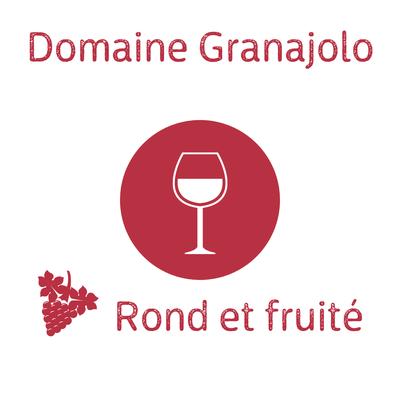 Domaine Granajolo Cuvée monika 2019 rouge AOP Corse Porto-Vecchio (recommandé avec le Burger Nustrale) 75cl image