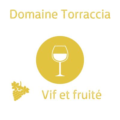 Domaine Torraccia Blanc, Cuvée du Domaine 2018 AOP Corse Porto-Vecchio 75cl (recommandé avec le tajine de poulet au citron) image