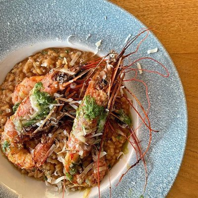 Risotto aux gambas image
