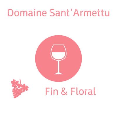 Domaine Sant'Armettu, Rosé, Cuvée rosumarinu 2020, Vin de France AOP Corse Sartène 75cl image