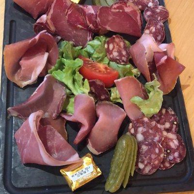 Assiette de charcuterie Corse image