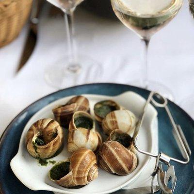 Gros escargots de Bourgogne persillés (x6) image
