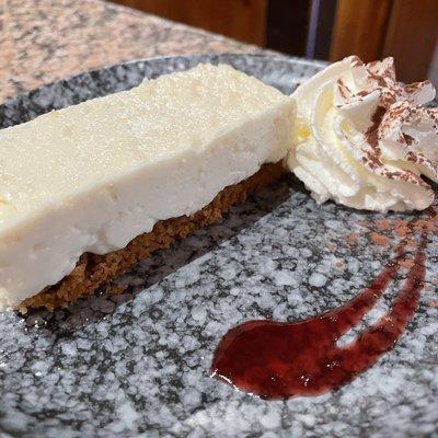 Cheese cake au brocciu et citron image