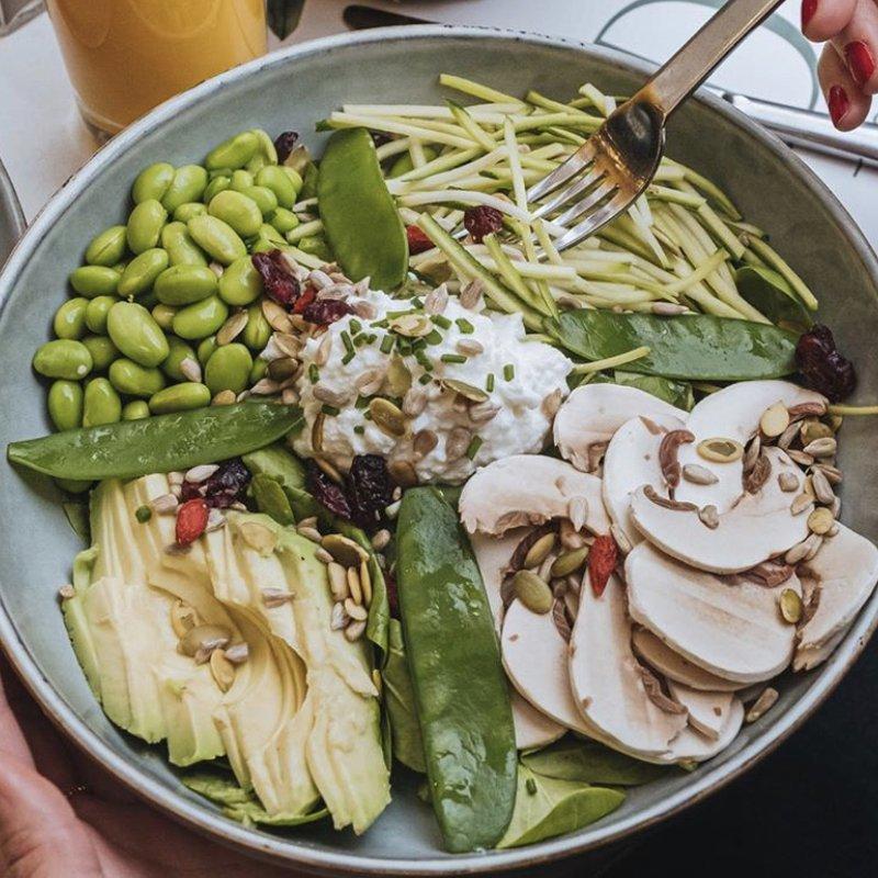 Green Veggie Bowl image