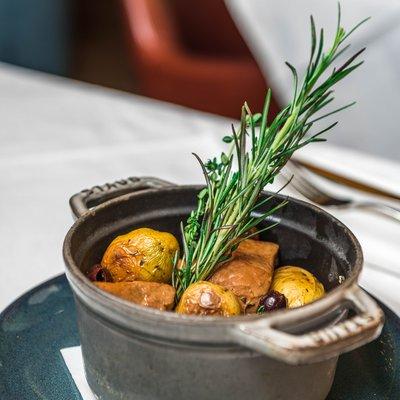 Mijoté de Veau aux olives image