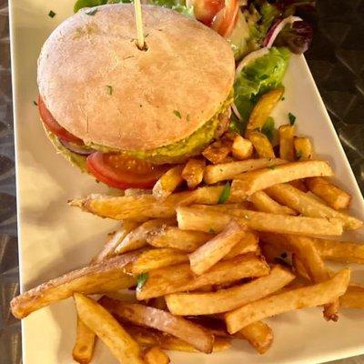 Burger 100% Vegan image