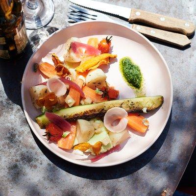Assiette de légumes de saison image