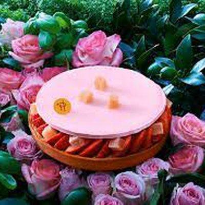 Tarte Fraise & Loukoums à l'Eau de Rose image